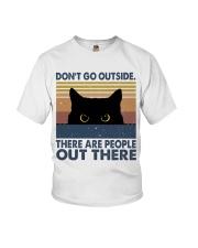 Don't Go Outside Youth T-Shirt thumbnail
