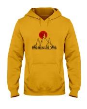 Run Wild Hooded Sweatshirt front