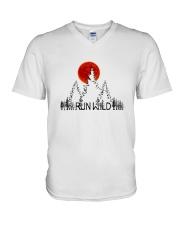 Run Wild V-Neck T-Shirt thumbnail