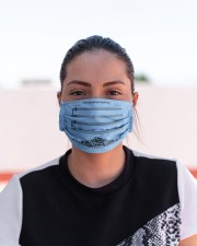 The Sound Of Silence Cloth face mask aos-face-mask-lifestyle-03