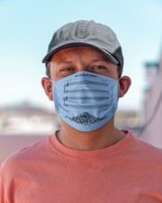The Sound Of Silence Cloth face mask aos-face-mask-lifestyle-06