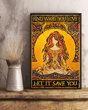 Find What You Love 11x17 Poster lifestyle-poster-3