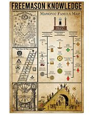 Freemason Knowledge 11x17 Poster front
