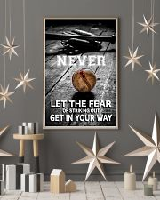Never Let The Fear 11x17 Poster lifestyle-holiday-poster-1