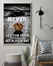 Never Let The Fear 11x17 Poster lifestyle-poster-1