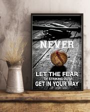 Never Let The Fear 11x17 Poster lifestyle-poster-3