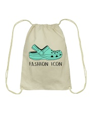 Fashion Icon Drawstring Bag thumbnail