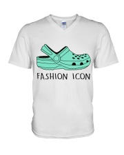 Fashion Icon V-Neck T-Shirt thumbnail