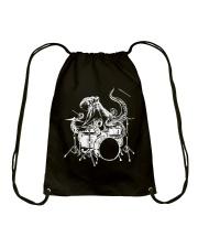 I Drummer Drawstring Bag thumbnail