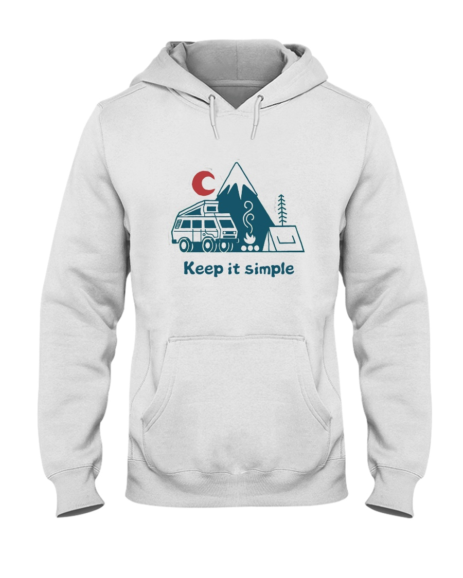 Keep It Simple Hooded Sweatshirt