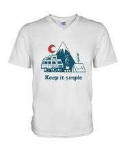Keep It Simple V-Neck T-Shirt thumbnail