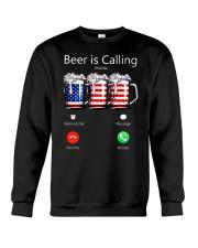 Beer Is Calling Crewneck Sweatshirt thumbnail