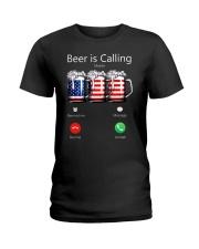 Beer Is Calling Ladies T-Shirt thumbnail