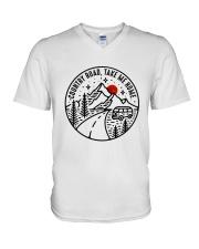 Country Road Take Me Home V-Neck T-Shirt thumbnail