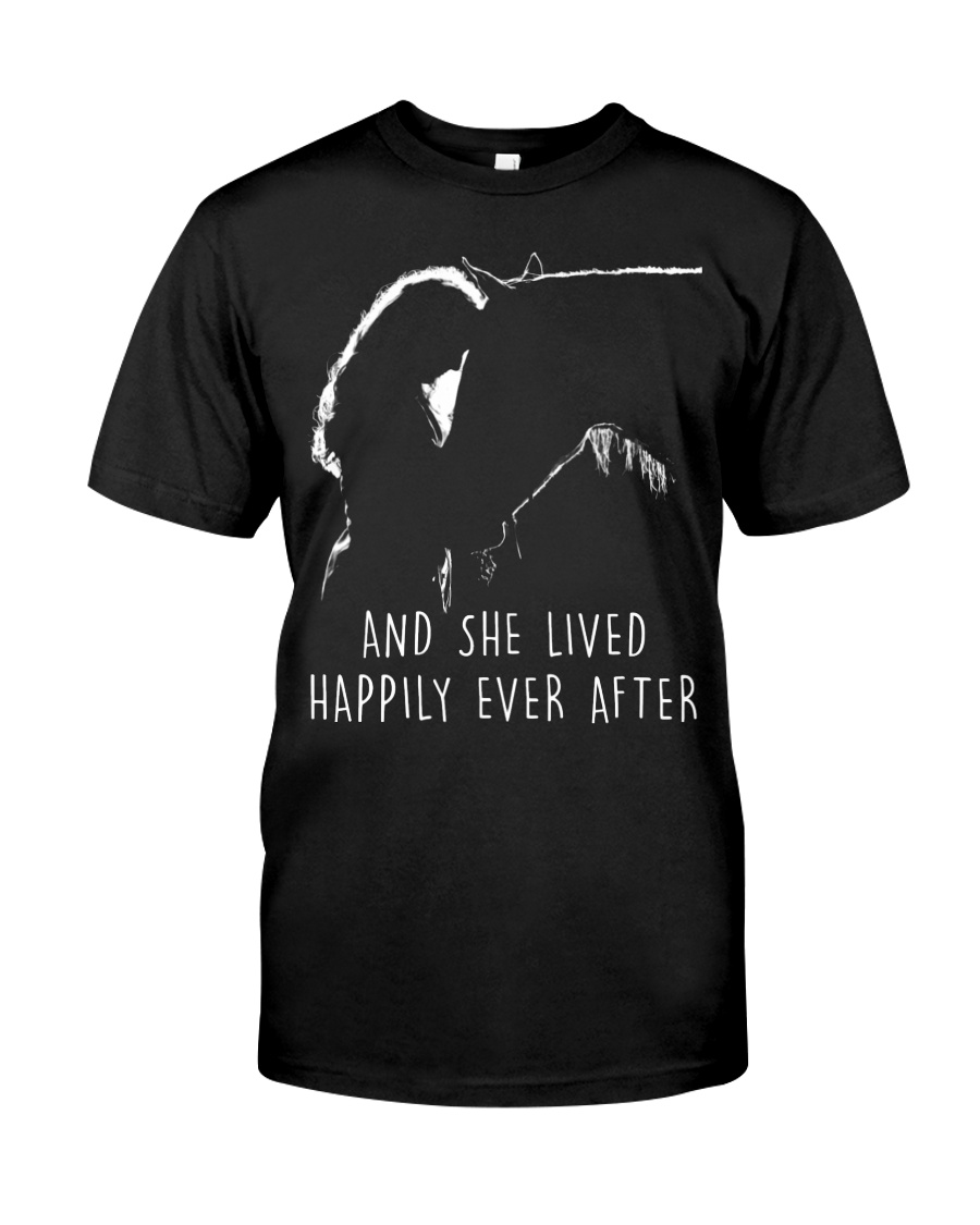 She Lived Happily Ever After Classic T-Shirt