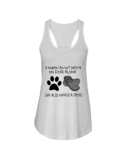 She Also Needs A Dogs Ladies Flowy Tank thumbnail