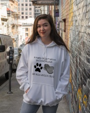 She Also Needs A Dogs Hooded Sweatshirt lifestyle-unisex-hoodie-front-1