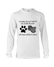 She Also Needs A Dogs Long Sleeve Tee thumbnail