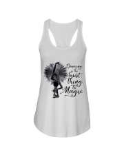 Dancing Is The Closet Thing Ladies Flowy Tank thumbnail