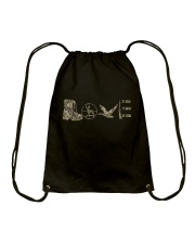 Love Hunting Drawstring Bag thumbnail