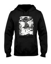 Get In Loser Hooded Sweatshirt front