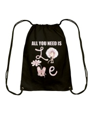 All You Need Is Love Drawstring Bag thumbnail