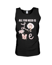 All You Need Is Love Unisex Tank tile