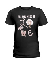 All You Need Is Love Ladies T-Shirt tile
