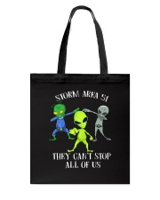Storm Area 51 Alien Tote Bag thumbnail