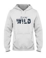 Into The Wild Hooded Sweatshirt front