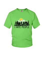 I Hate People Youth T-Shirt front