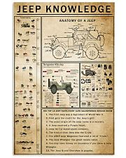 Jeep Knowledge 11x17 Poster front