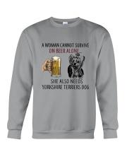 Yorkshire Terriers Dog Crewneck Sweatshirt thumbnail