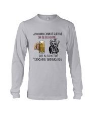 Yorkshire Terriers Dog Long Sleeve Tee thumbnail