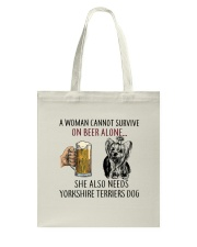 Yorkshire Terriers Dog Tote Bag thumbnail