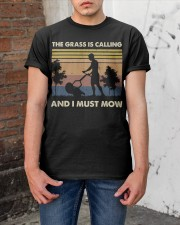 The Grass Is Calling Classic T-Shirt apparel-classic-tshirt-lifestyle-31