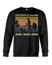 The Grass Is Calling Crewneck Sweatshirt thumbnail