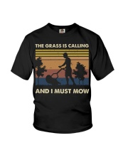 The Grass Is Calling Youth T-Shirt thumbnail