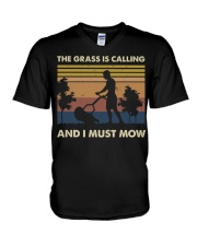 The Grass Is Calling V-Neck T-Shirt thumbnail