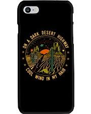 On A Dark Desert Highway Phone Case thumbnail