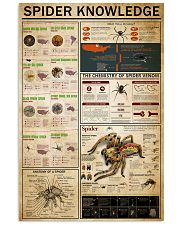 Spider Knowledge 11x17 Poster front