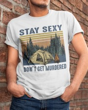 Stay Sexy Classic T-Shirt apparel-classic-tshirt-lifestyle-26