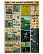 Trail Running Knowledge 11x17 Poster front