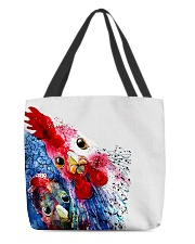 Love Chicken All-over Tote front