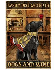 Dogs And Wine 11x17 Poster front