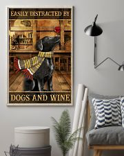 Dogs And Wine 11x17 Poster lifestyle-poster-1