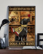 Dogs And Wine 11x17 Poster lifestyle-poster-2