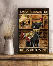 Dogs And Wine 11x17 Poster lifestyle-poster-3