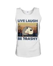 Live Laugh Be Trashy Unisex Tank thumbnail