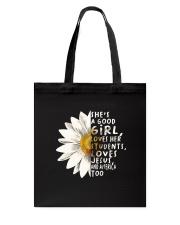 She Is A Good Girl Tote Bag thumbnail